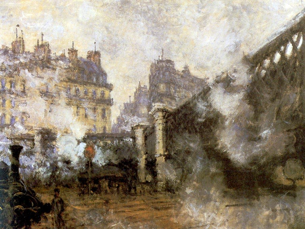 Artiste peintre impressionniste claude monet fond d 39 ecran for Imag fer forget argenteuil